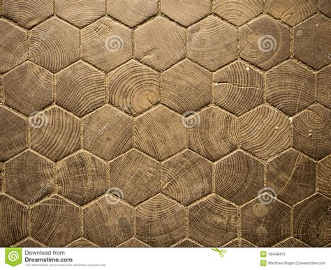 wood hexagon pattern stock photography image