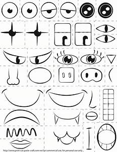 Printable Kids Activity  Make A Face  Exploring Emotions