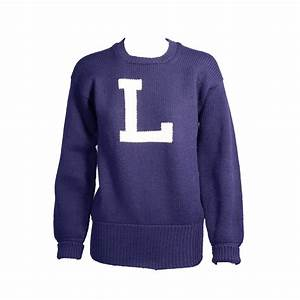 vintage navy and white letter sweater for sale at 1stdibs With letter a sweater