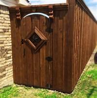 wood fence gates Gates Roofing