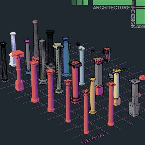 home design elements reviews 3d objects of classical architecture facades for autocad