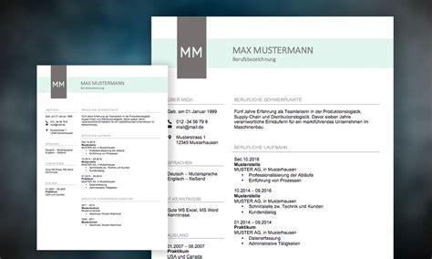 Gestaltung Lebenslauf Muster by Lebenslauf Muster 2019 Meinebewerbung Net