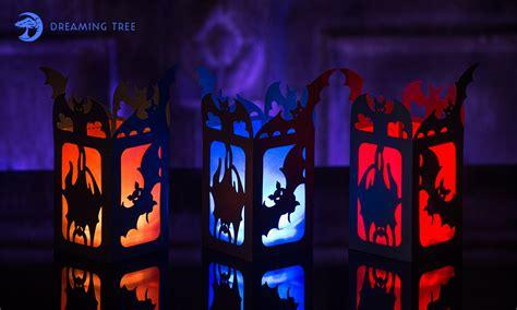 cut  glue  simple spooky lantern  halloween