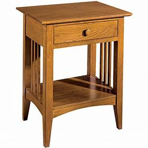Custom Mission Contemporary Night Stand by Murphy's Fine