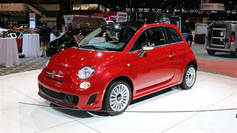 Update Motor Show 2018 : Fiat 500 Goes All Turbo For 2018