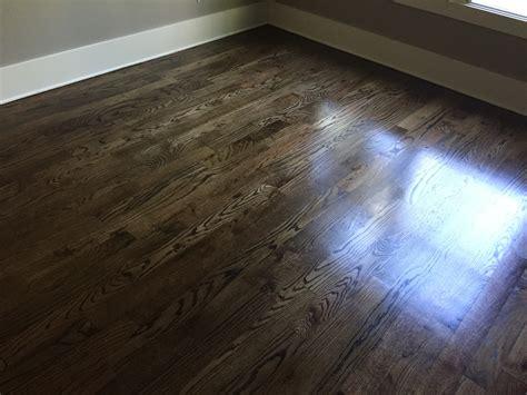 espresso hardwood floors newly sanded 2 red oak hardwood flooring minwax espresso stain our new house pinterest
