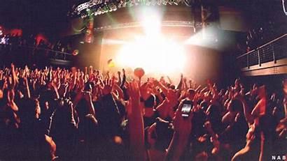 Concert Crowd Rave Lights Edm Club Raving