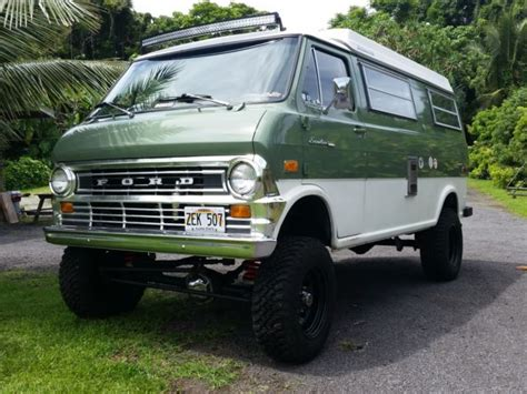 econoline van   van  sale ford  series