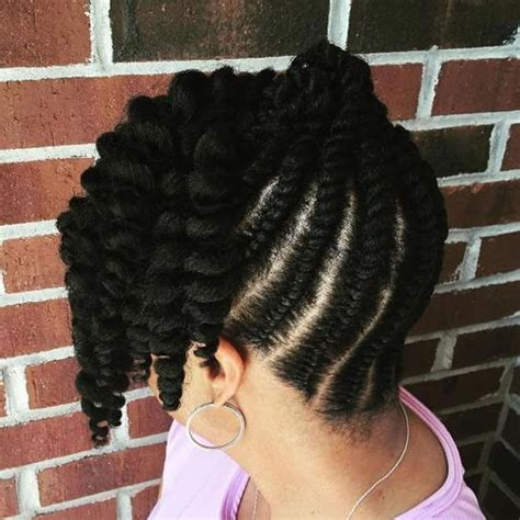 Twists Updo Hairstyles Americans by 2019 American Flat Twist Updo Hairstyles