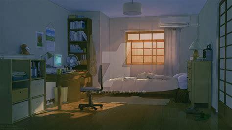 anime bedroom by shinasty bedroom drawing anime scenery