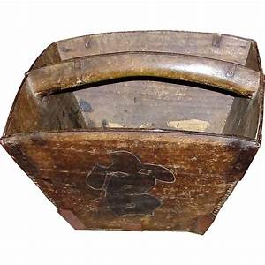 Rustic Antique Chinese Rice Box from heirloomdolls on Ruby ...