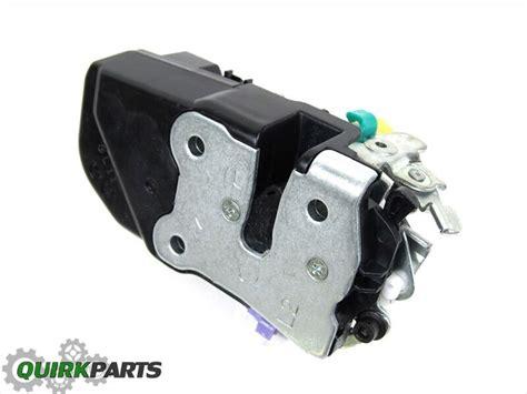 dodge durango dakota door latch power lock actuator front left mopar genuine new ebay