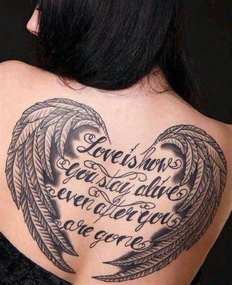 motive frauen ideen engelsfl 252 gel und schrift tats tatto