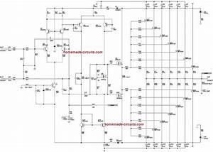 1000 Watt To 2000 Watt Power Amplifier Circuit