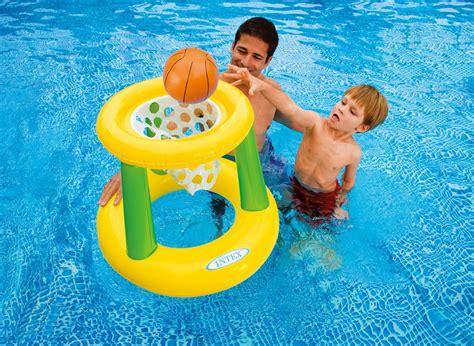 jeu de basket flottant pour piscine intex jardideco