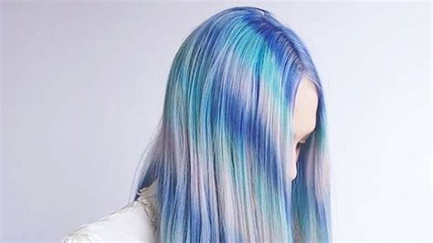 Hair Color Trends Tye Dye Hair Color Trend Teen Vogue