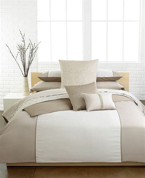 calvin klein bedding calvin klein chagne comforter and duvet cover sets