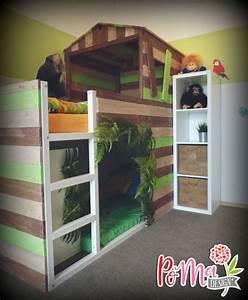 Ikea Bett Kinderzimmer : die besten 25 dschungel kinderzimmer ideen auf pinterest dschungel baby raum dschungel ~ Frokenaadalensverden.com Haus und Dekorationen
