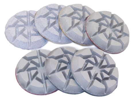 floor buffing pads types inscribed triangle type conerete floor polishing white