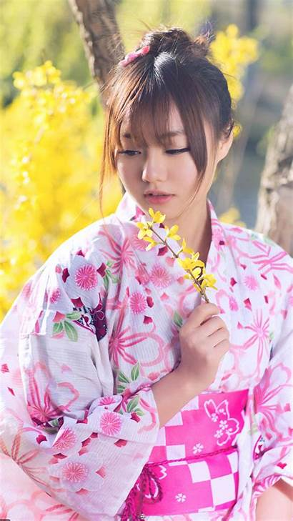 Iphone Japanese Wallpapers Plus Background Kimono Girly
