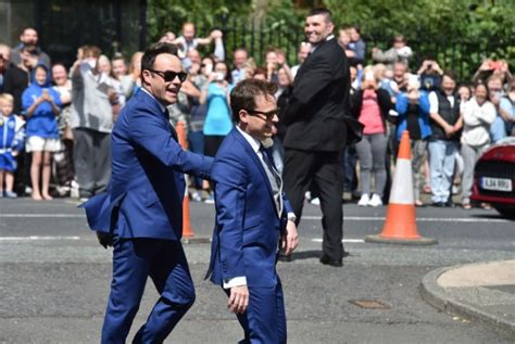 Look who got married! Pictures of Declan Donnelly and Ali ...