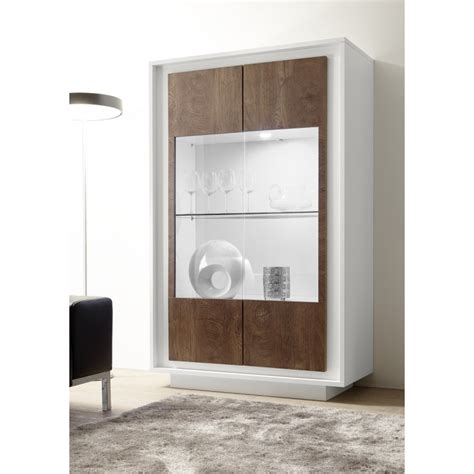 Display Cabinet Modern by Iii Modern Display Cabinet With Lights In White And