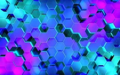 Abstract Hexagon Pattern Geometric 4k Shapes Wallpapers