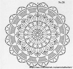 Black Lace Circle Motif Crochet Dress