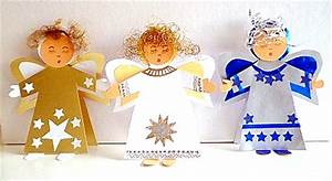 Engel Selber Basteln : stehender engel als tischdekoration weihnachten basteln ~ Lizthompson.info Haus und Dekorationen