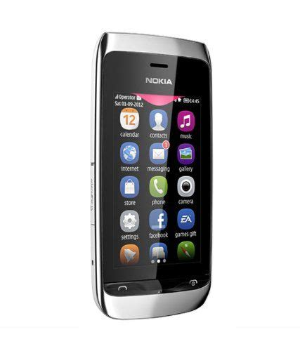 nokia asha  dual sim simfree touch screen mobile phone