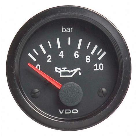 Vdo Vision Car Oil Pressure Gauge Electrical Bar