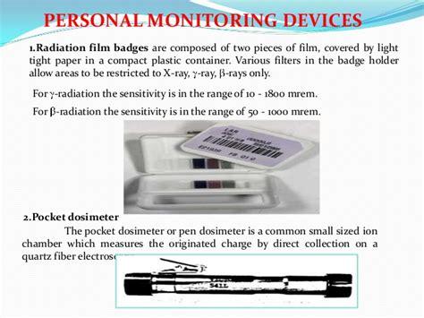 White Picture Radiation Film Badge