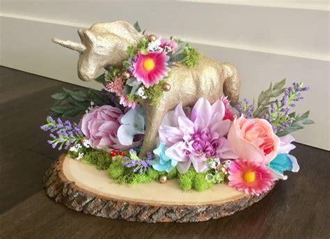 Unicorn Garden Decoration by Unicorn Centerpiece Baby Shower Birthday