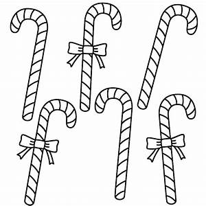 coloring page candy cane - christmas candy cane coloring pages coloring home