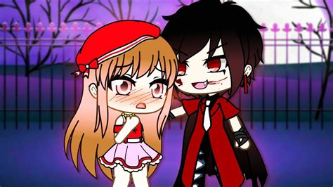 She Fell In Love With A Vampire (gacha Life Story