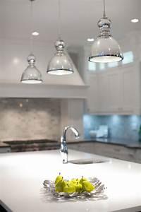 mercury glass pendant light kitchen contemporary with With glass pendant lighting for kitchen