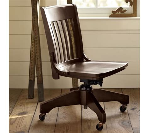 Office Chairs Pottery Barn by Swivel Desk Chair Pottery Barn