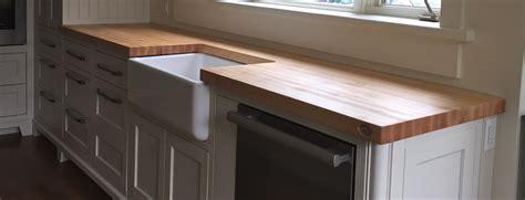 comptoir bois cuisine table comptoir bloc de boucher et ilôt en bois massif
