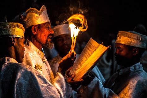 ethiopian easter lalibela church priest ethiopia bet fasika alem celebrate orthodox flickr fasting sunday priests prayer festivals prayers daily giyorgis