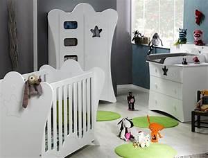 Mobilier Chambre Enfant : mobilier de chambre enfant photo lit bebe evolutif ~ Teatrodelosmanantiales.com Idées de Décoration