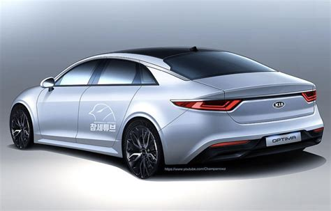 kia optima render korean car blog