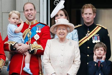 Prince George Wears Cheeky Grin In New Portrait With Queen ...