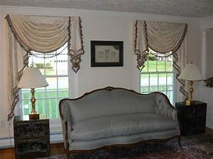 Valances traditional living room other metro by for Valances for living room