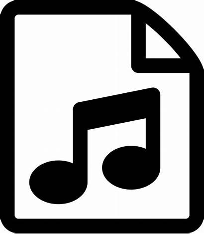 Icon Audio Song Svg Icons Document Cdr