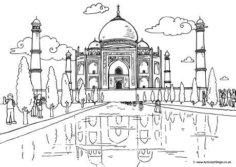 world colouring pages