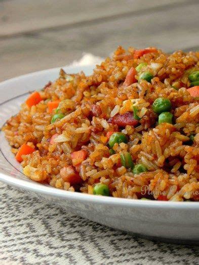 cuisiner le vrai riz frit chinois 576 best images about pates et riz on lasagne