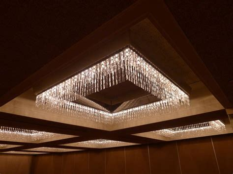 Low Profile Chandelier by Great Low Profile Chandelier With Lots Of Sparkle And