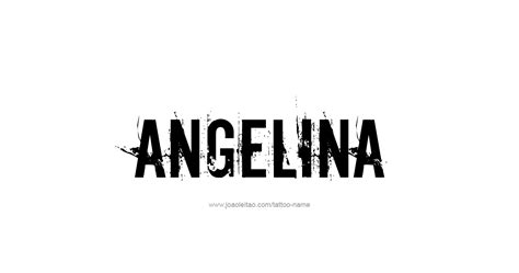 angelina  tattoo designs
