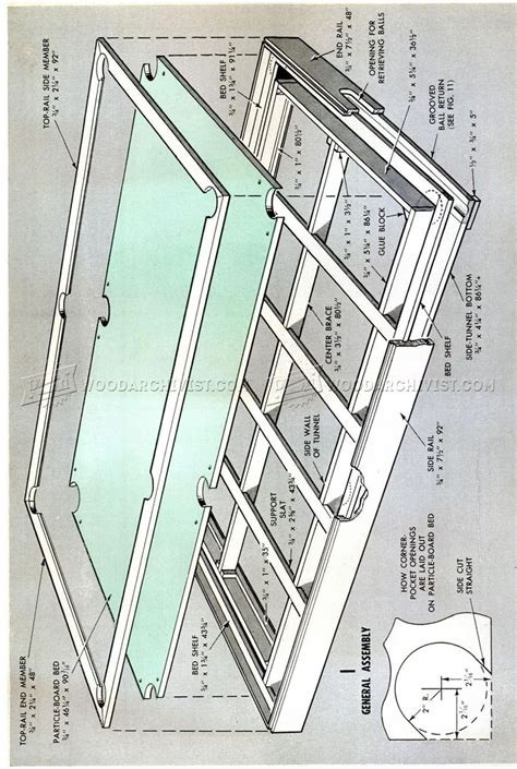 diy pool table woodworking plans electron