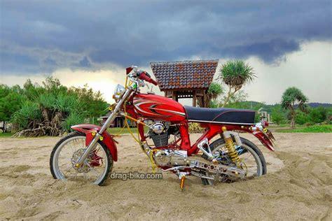 Gambar Motor Cb Modif by 51 Foto Gambar Modifikasi Motor Cb 100 Terbaik Kontes Drag